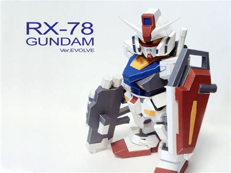 Sd Gundam Papercraft - sd gundam paper model