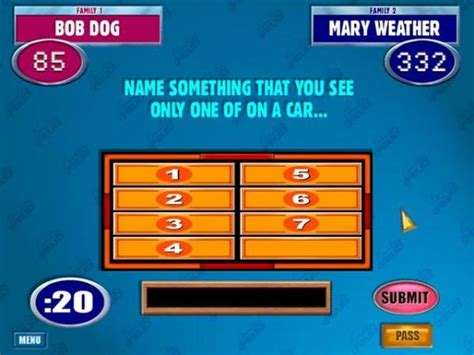 Family Feud Download What Is A Family Feud