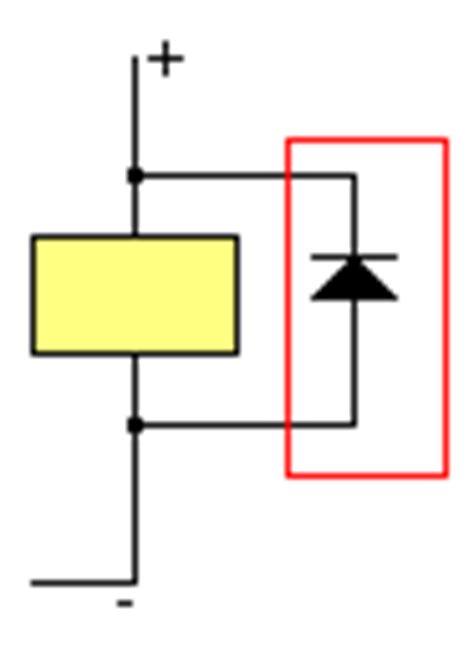 diode de roue libre 1n4007 201 lectro aimants des contacteurs