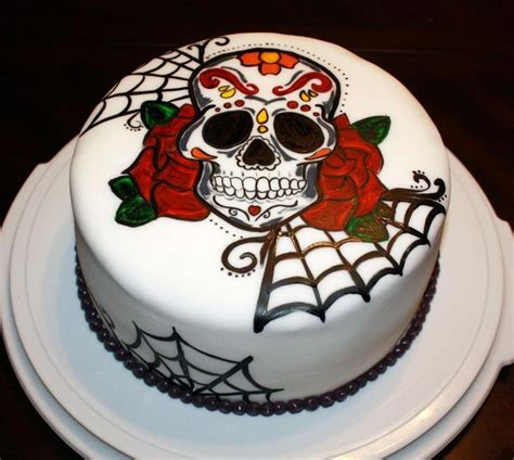 Sugar Syrup Cake Decorating by 25 Best Ideas About Skull Cakes On