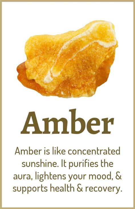 amber healing properties benefits crystals crystal
