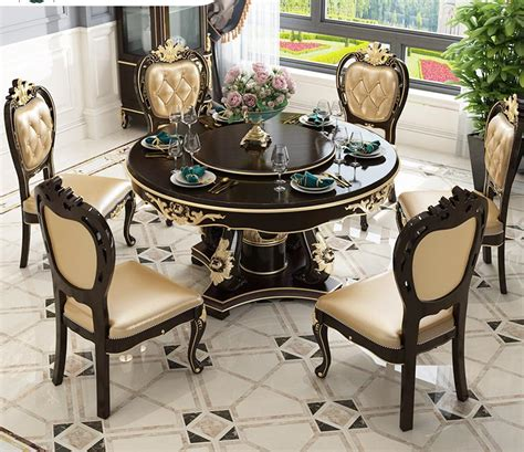 modern luxury european style quality furniture dining room