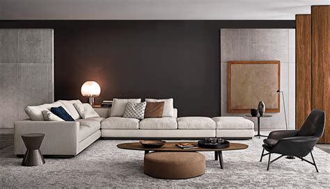 minotti home design products andersen line lounge sofas from minotti architonic