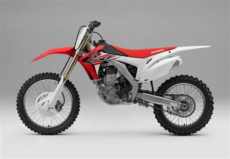 motocross bikes honda 2016 honda crf motocross bikes announced motorcycle com news