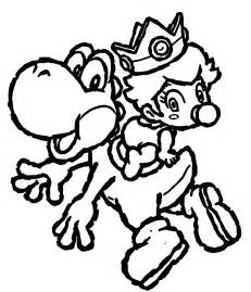yoshi coloring pages free printable yoshi coloring pages for