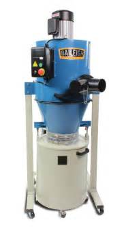 Generator Brake Dust Collection System Cyclone Dust Extractor Dc 1450c Baileigh Industrial