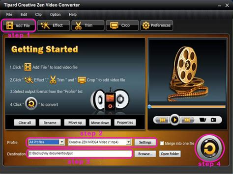 Format Video Zen Creative | convert video to other formats supported by creative zen