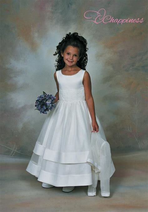 Sweetie Pie Dress Tiny Jewels Flower Models Now Tiny Jewels Models | beautiful little girls dresses scoop satin organza flower