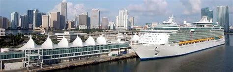 Rental Car Miami Cruise Port by Royal Caribbean Cruise Line Port Of Miami Pictures