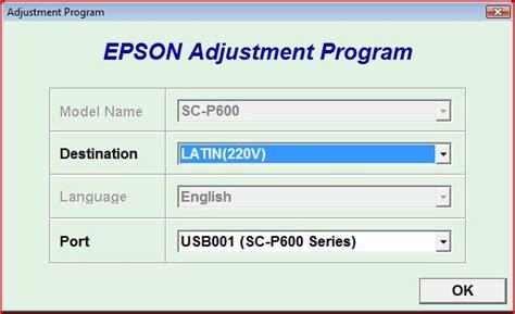 reset tool epson dx4450 waste ink pad reset und das adjustment tool f 252 r epson