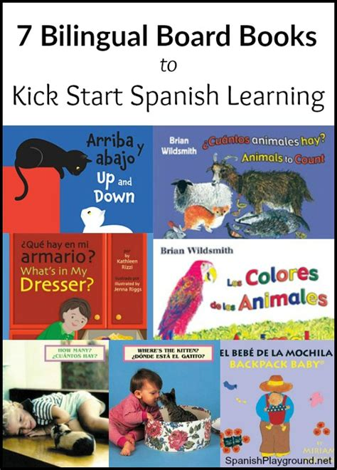 start spanish learn spanish 7 bilingual board books to kick start spanish learning spanish playground
