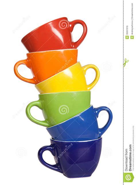 Colorful Set colorful set of cups stock image cartoondealer 57662917