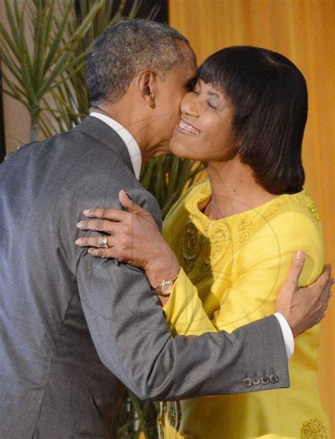 portia simpson miller house jamaica gleanergallery president barack obama s visit to