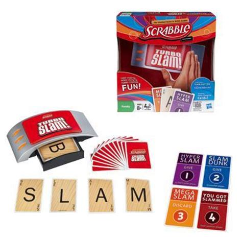 scrabble turbo slam hasbro electronic scrabble turbo slam word gamesplus