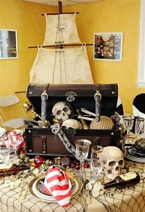 pirate themed table decorations 1000 ideas about pirate tables on