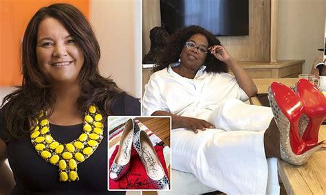 oprah winfrey s christian louboutin stilettos sold on ebay for 16 601 daily mail
