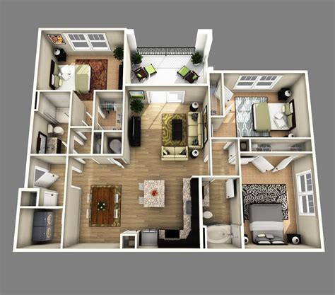 sims 3 3 bedroom house plans luxury floor plan three bedroom condo best d open floor plan bedroom bathroom inspirations 3d 3