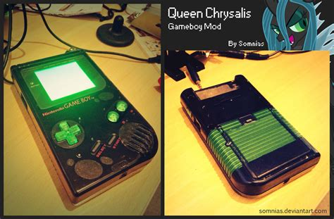 Gameboy Mod Store | back lit gameboy mod queen chrysalis by somnias on