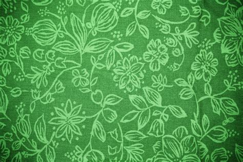 pattern photoshop green green fabric with floral pattern texture picture free