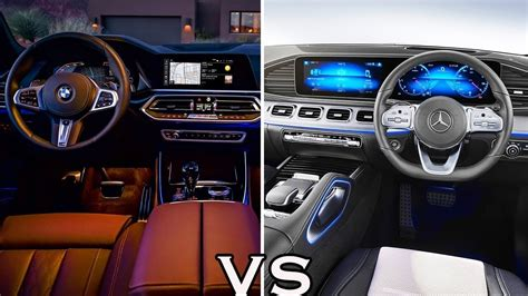 2020 Mercedes Gle Vs Bmw X5 by 2019 Mercedes Gle Vs 2019 Bmw X5 Interior Comparison