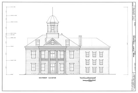 Sketches School by Measuring Buildings For The Historic American Buildings Survey