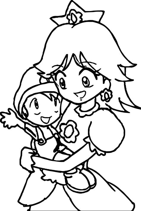 mario daisy coloring page how to draw daisy from mario coloring pages free coloring