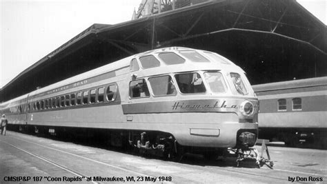 milwaukee road passenger car info needed o
