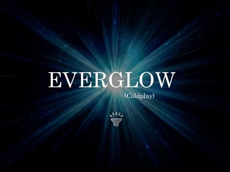coldplay everglow album everglow coldplay