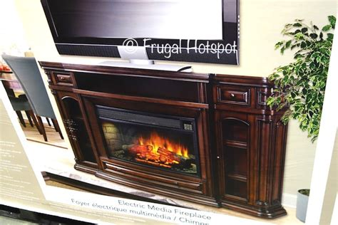 costco sale ember hearth electric media fireplace 449 99