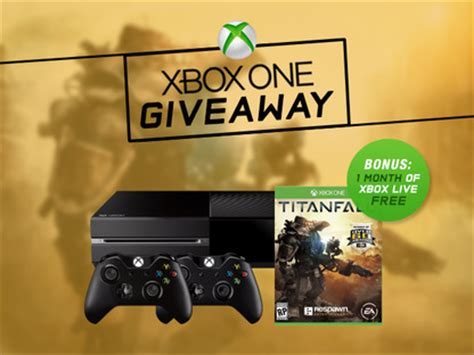 Free Xbox One Giveaway - mactrast deals the xbox one titanfall giveaway win an xbox one titanfall 2