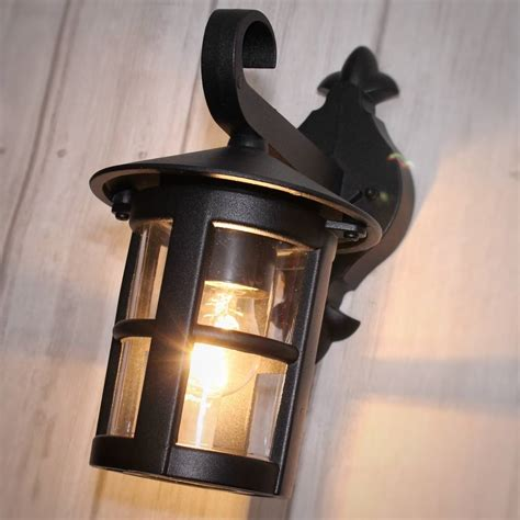Classic Outdoor Wall Light Black Lightbox Outdoor Black Light