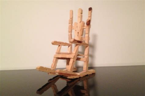 Diy C Chair by Clothespin Rocking Chair Diy