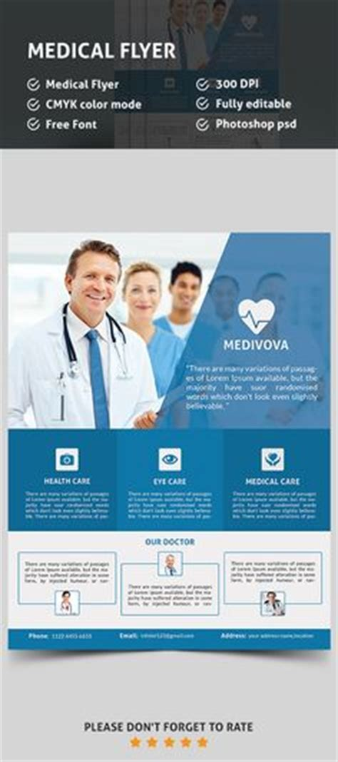 Medical Health Care Free Psd Flyer Template Afis Transmed Pinterest Flyer Template Psd Health Care Flyer Template Free