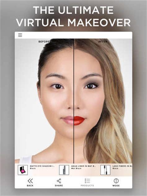 virtual hairstyles ipad app virtual makeover screenshot