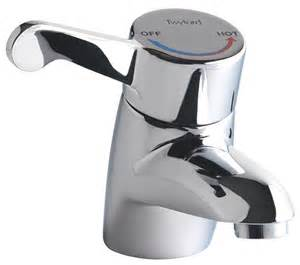 Small Designer Kitchens Twyford Sola Thermostatic Monobloc Basin Mixer Tap Sf1054cp