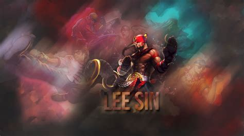 lee sin league  legends wallpapers hd