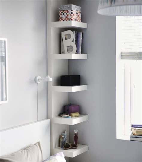 bedroom corner shelf corner shelves bedroom diy organization ideas decolover net