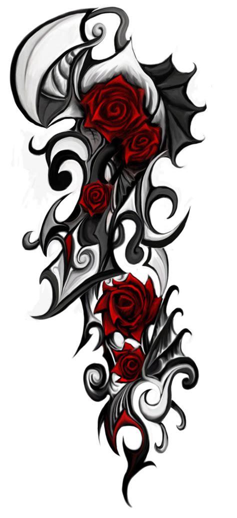 imagenes de rosas trival tatuajes de rosas tribales tatuajes imagen