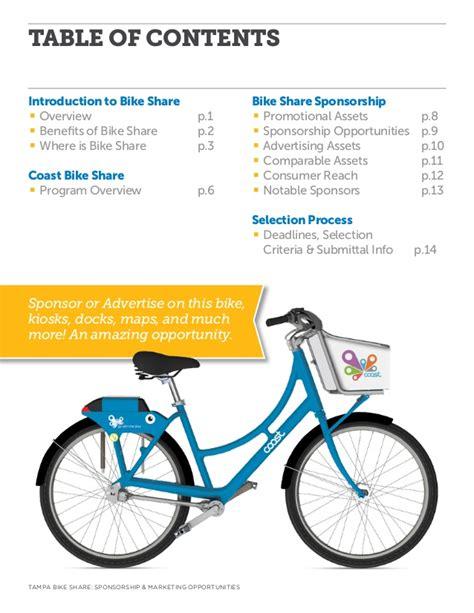 Sponsorship Letter Cycling coast bike sponsorship opportunities