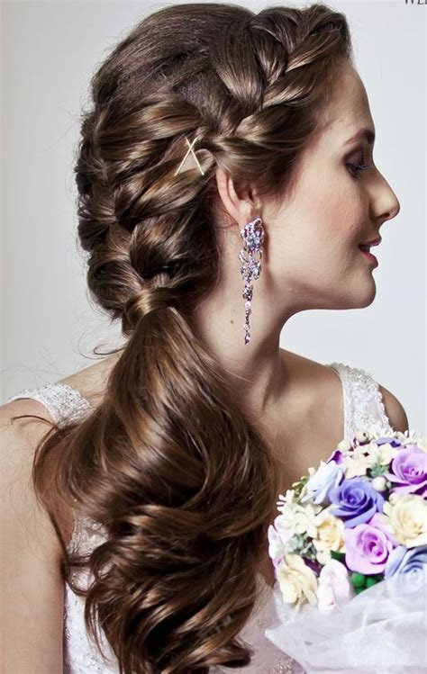 25 best ideas about braided wedding hairstyles on