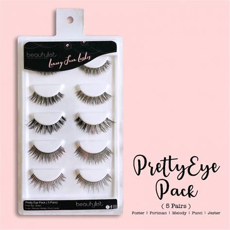 Sale Beautylist Pucci Eyelashes beautylist pretty eye pack 183 shecharming