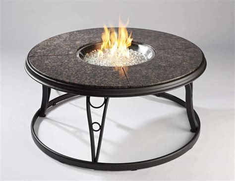 granite pit table costco outdoor greatroom granite 42 inch gas pit table
