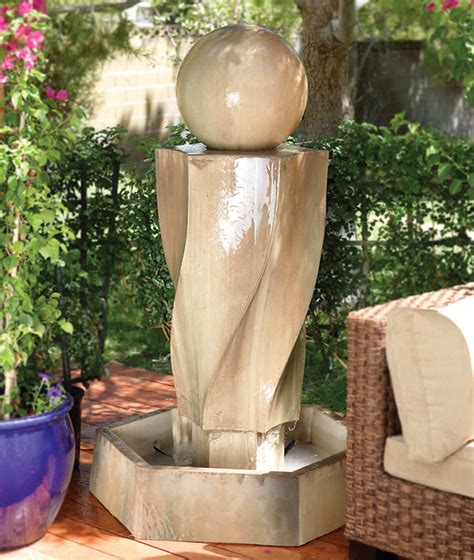 fountain for home decoration home outdoor garden house and home living room designs