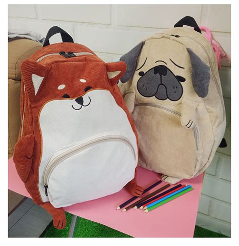 pug school bag buy wholesale pug backpacks from china pug backpacks wholesalers aliexpress