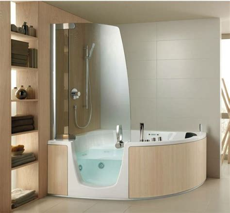 corner bath with shower shower room design