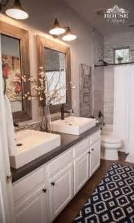bedroom bathroom upstairs bathrooms kid diy remodel tile shower like mosaic design door pan