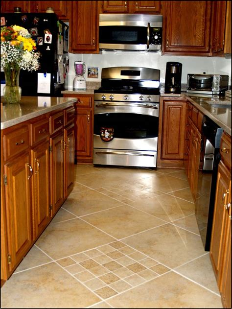 tile in kitchen p s i love this floored
