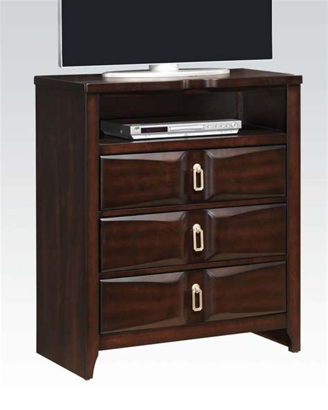 modern tv console modern tv console lancaster by acme ac24577