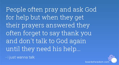 thanks for asking equipping god s with answers to s tough questions books often pray and ask god for help but when they get