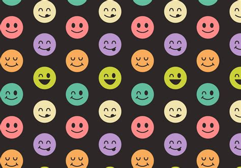 3d Wall Sticker free smiley face pattern vector download free vector art